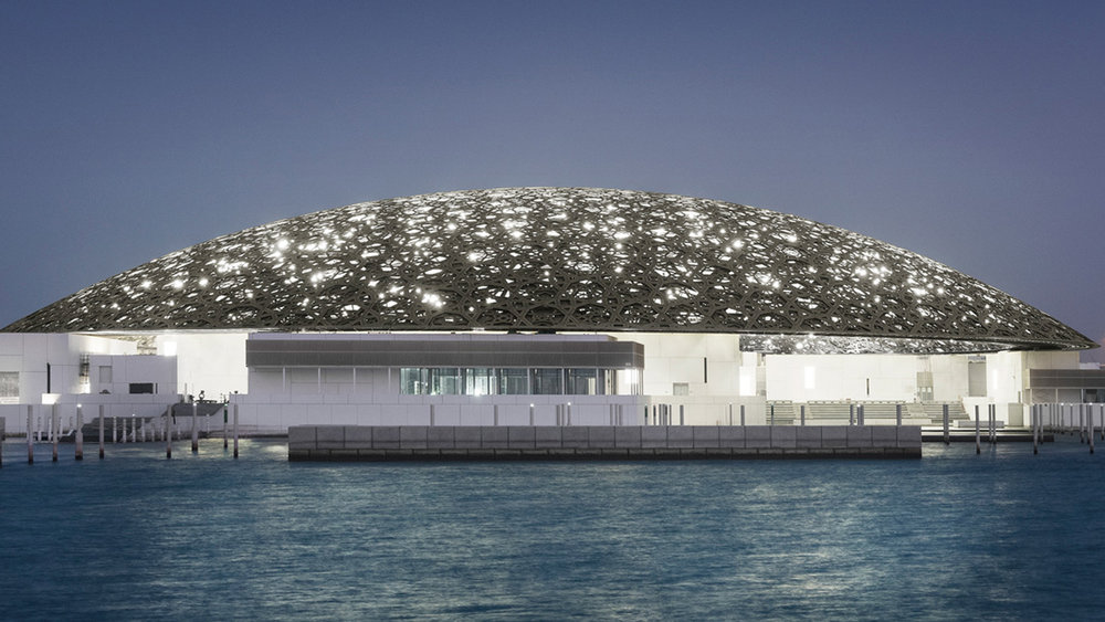 Louvre Abu Dhabi, Saadiyat Island Cultural District