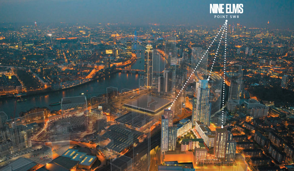 Nine Elms Point, London SW8