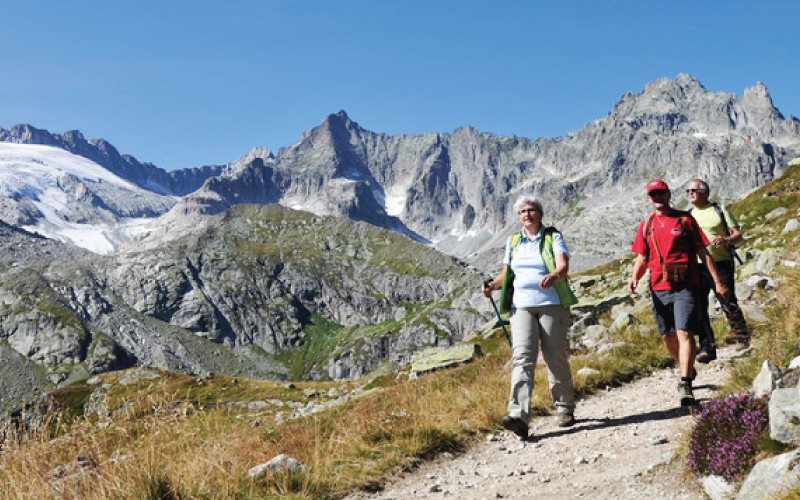 Mountain summer - Whether in search of sporting activity or relaxation, young or young at heart, a couple or family: In summer, the region invites you to enjoy golfing, hiking, Nordic walking, climbing and mountain biking in the breath-taking mountain countryside.