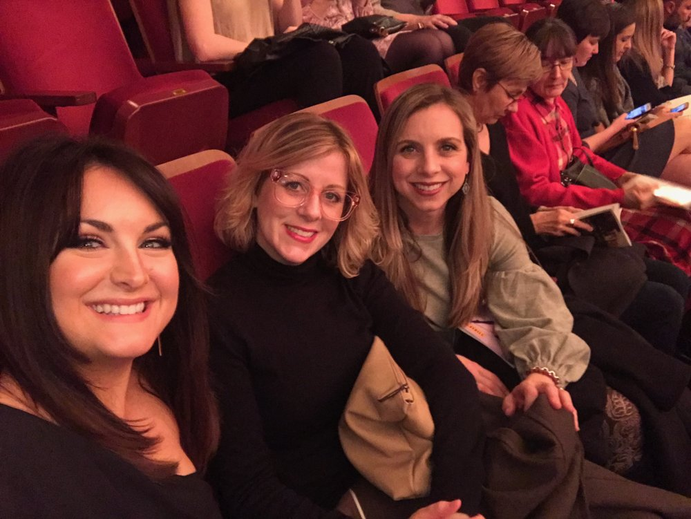 Me, Morgan and Cody at the ballet!