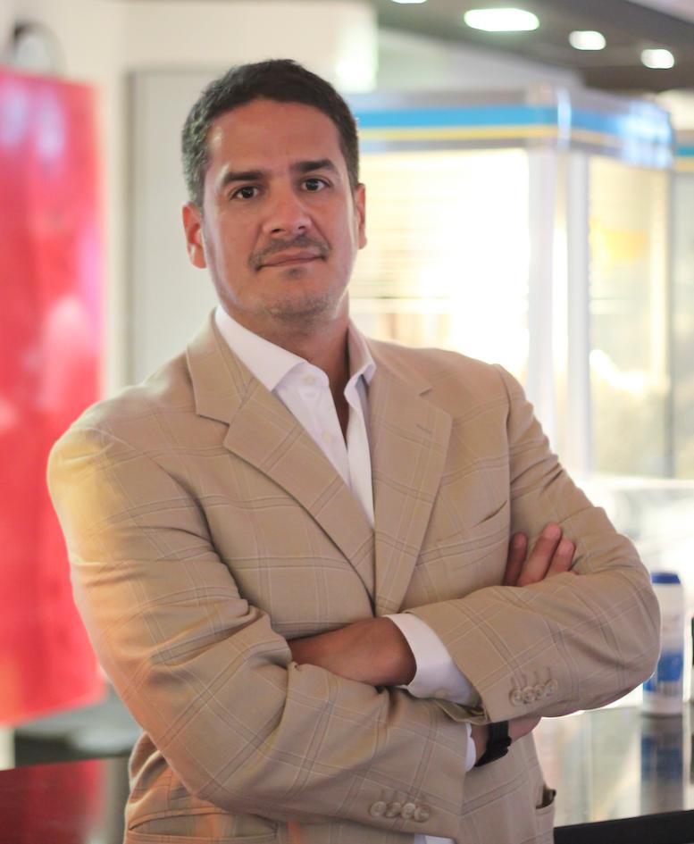 Juan Pablo Orellana, miembro asociado de la Academia de Artes y Ciencias Cinematográficas del Paraguay.