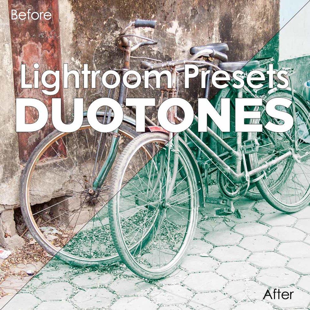 Lightroom Presets - Duotones