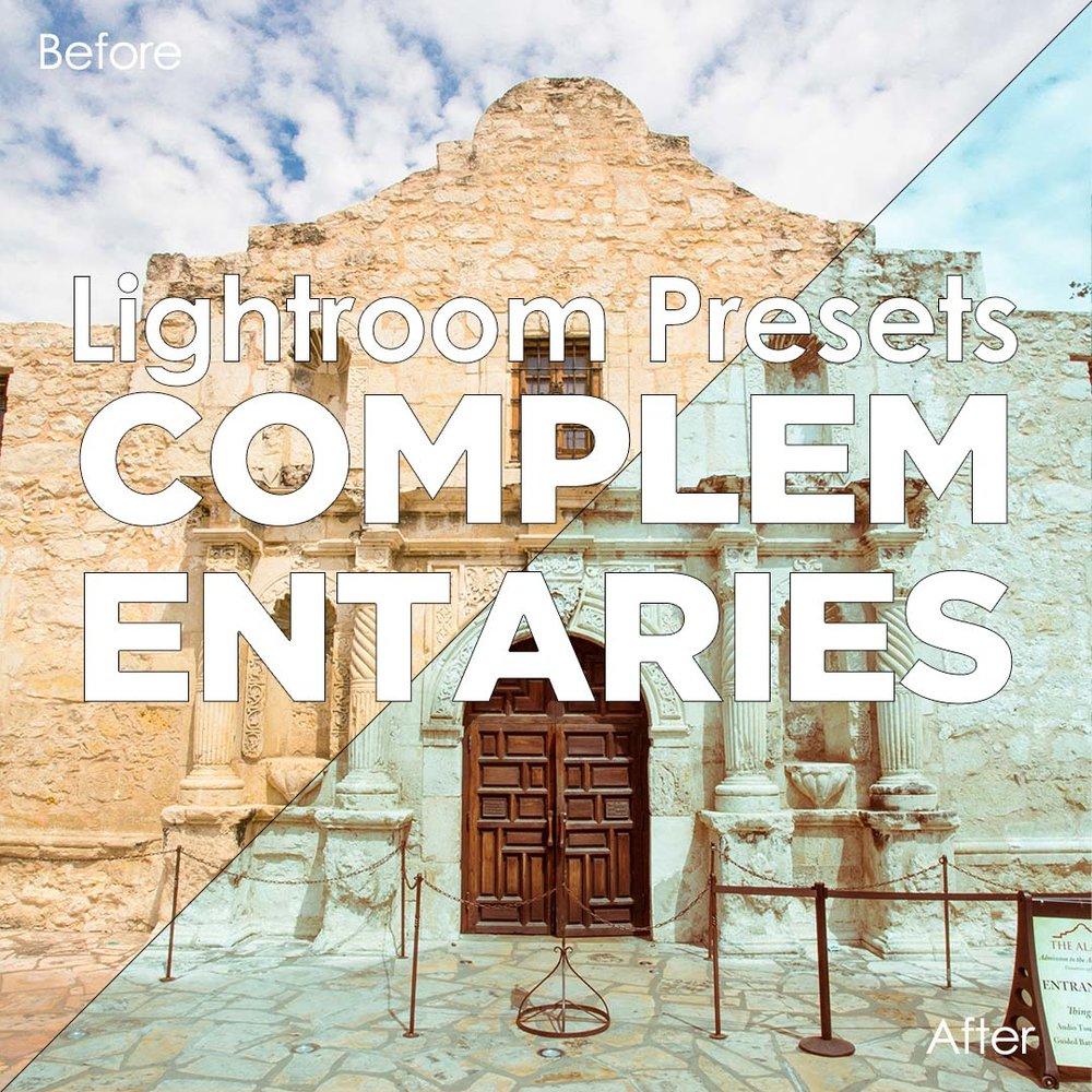 Lightroom Presets - Complementaries