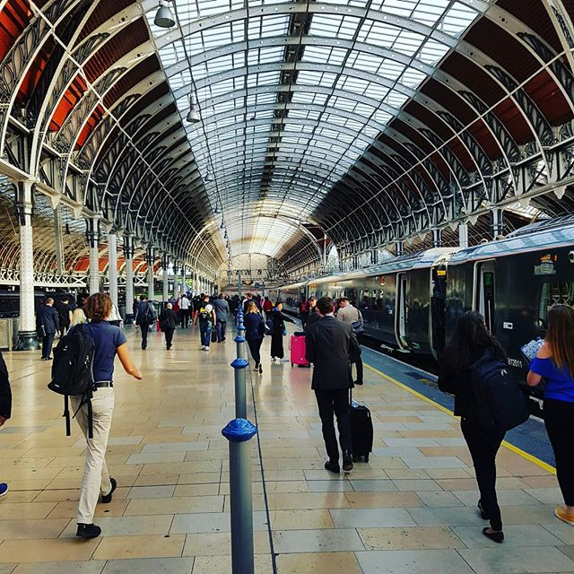 Look, it's London Paddington station.  On my way to The Kings Road, Chelsea to shoot the Danielle O'Connor Akiyama event!