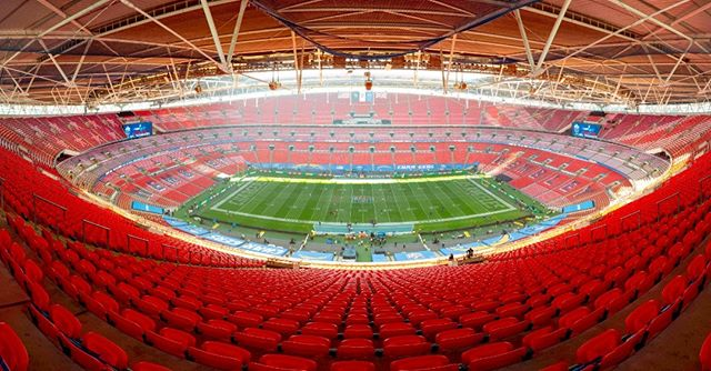Wembley Stadium, London.  Before the @Chargers played the @Titans. October 21, 2018