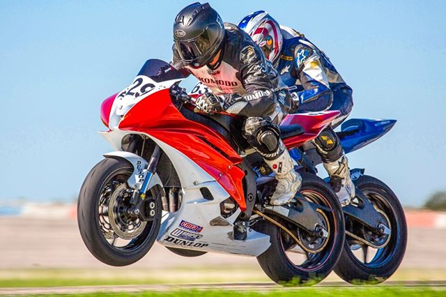 #Motorsports #Racing at the #texasworldspeedway. Shiny, sparkling bikes , deep in the heart of Texas.