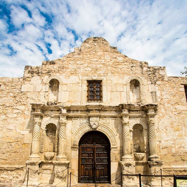 """183 years ago today, the Siege of the Alamo began. """"Remember the Alamo!"""""""