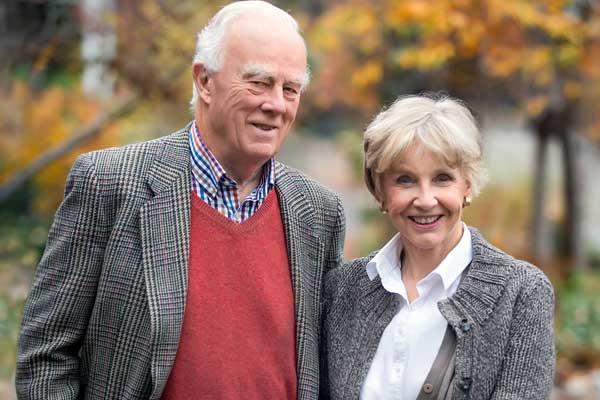 Judy and Wilmot Matthews -