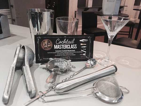 Give an experience... Our Cocktail Masterclass Gift Vouchers make a great present!