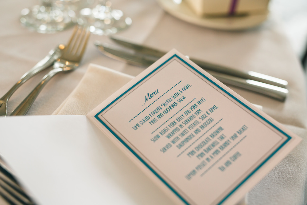 Handmade wedding menus.jpg