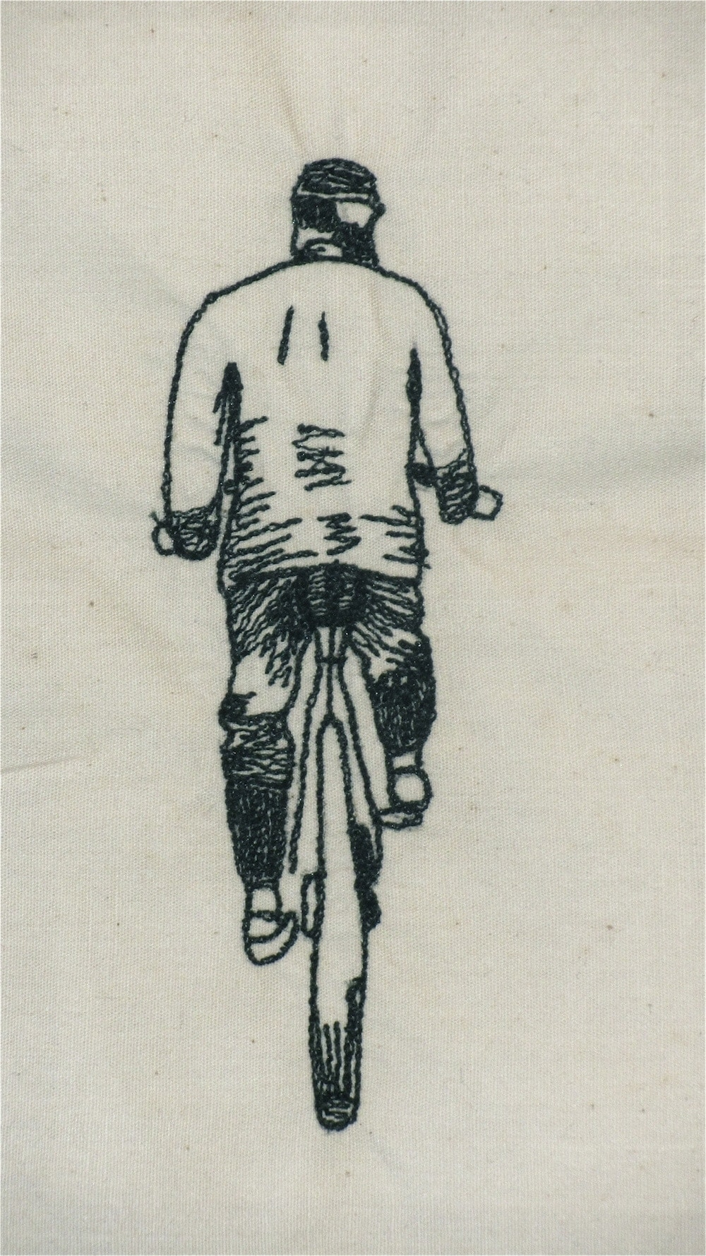 Free Motion Embroidery Cyclist black and white.jpg