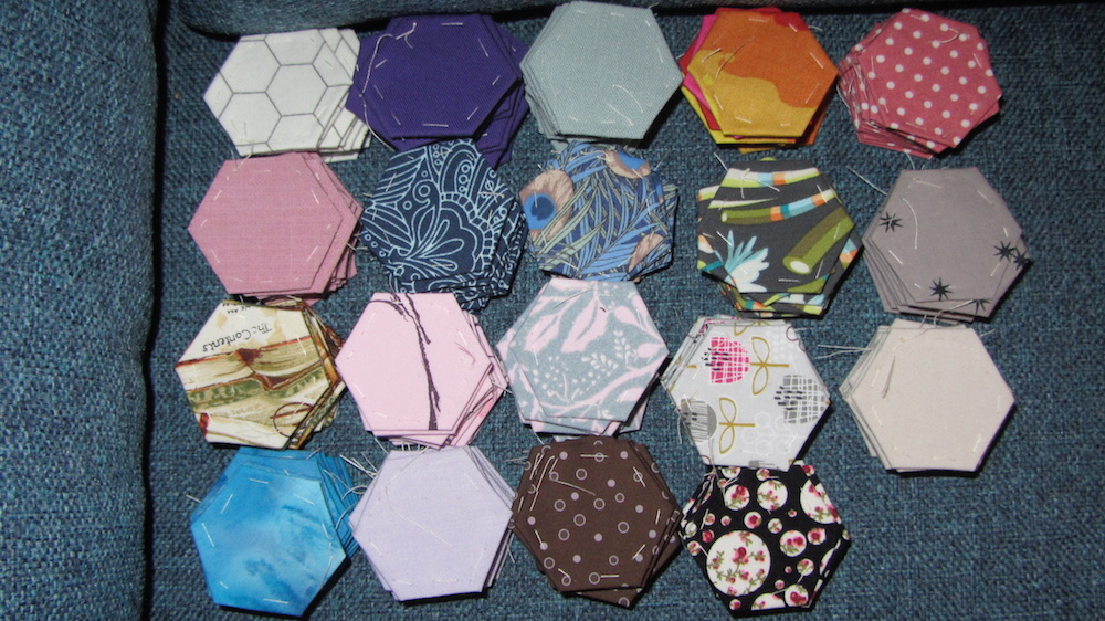 English paper piecing hexagons.jpeg