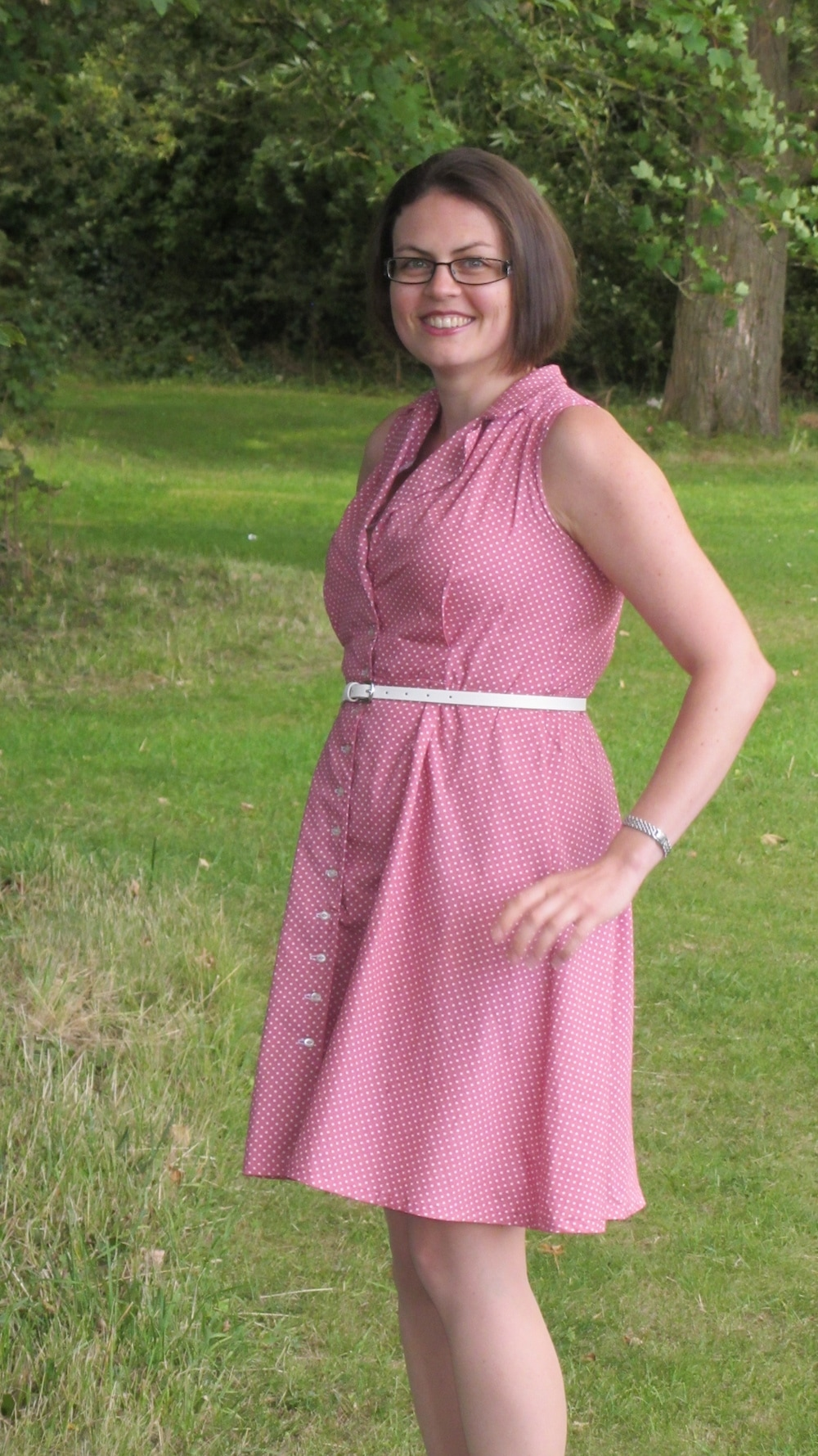 Sew Over It pink Vintage Shirt dress 3.jpg
