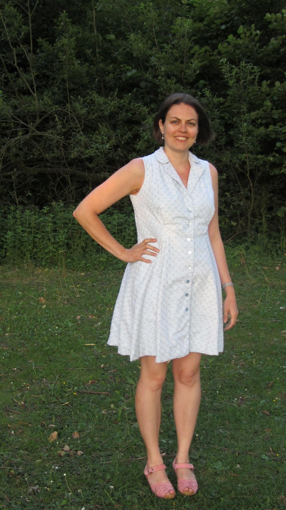 Sew Over It white Vintage Shirt dress.jpg