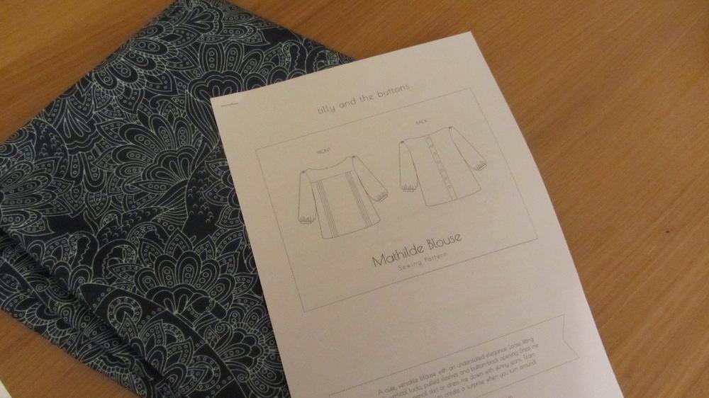 Mathilde pattern and fabric.JPG
