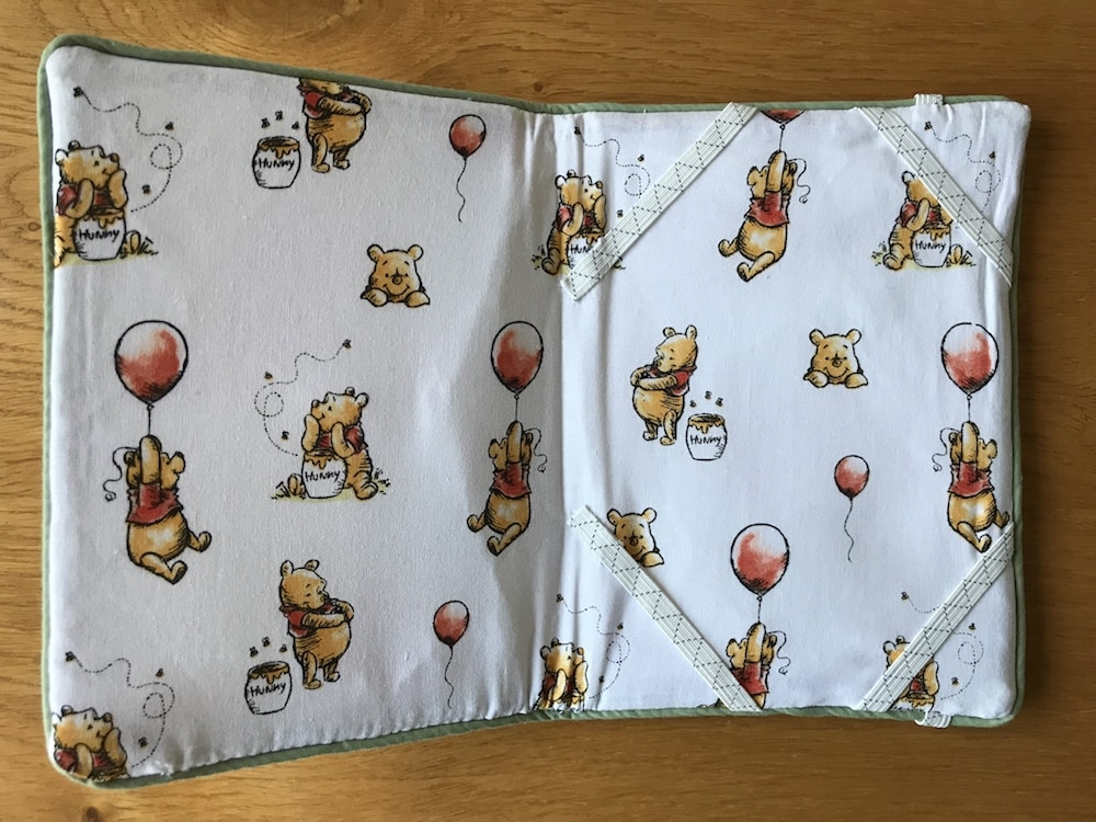 Vsage Textiles Winnie the Pooh Honey Pot cotton fabric Kindle cover.jpg