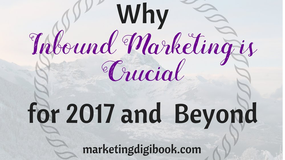 Inbound Marketing importance