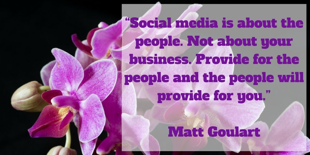 Social media is about the people. Not about your business.jpg