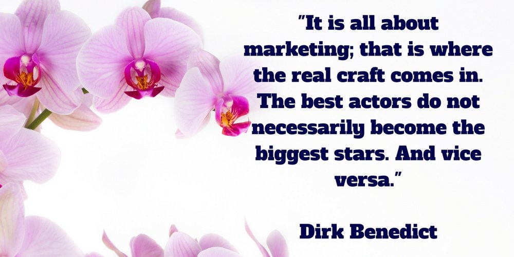 It is all about marketing; that is where the real craft comes in.jpg