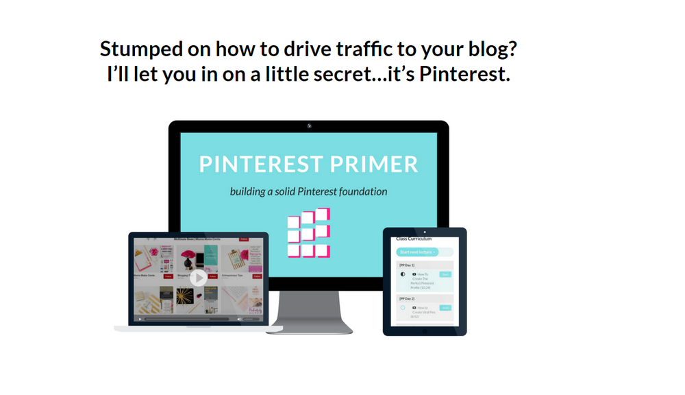 Pinterest primer digital marketing course