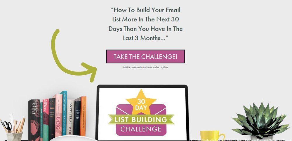 The 30-Day List Building Challenge