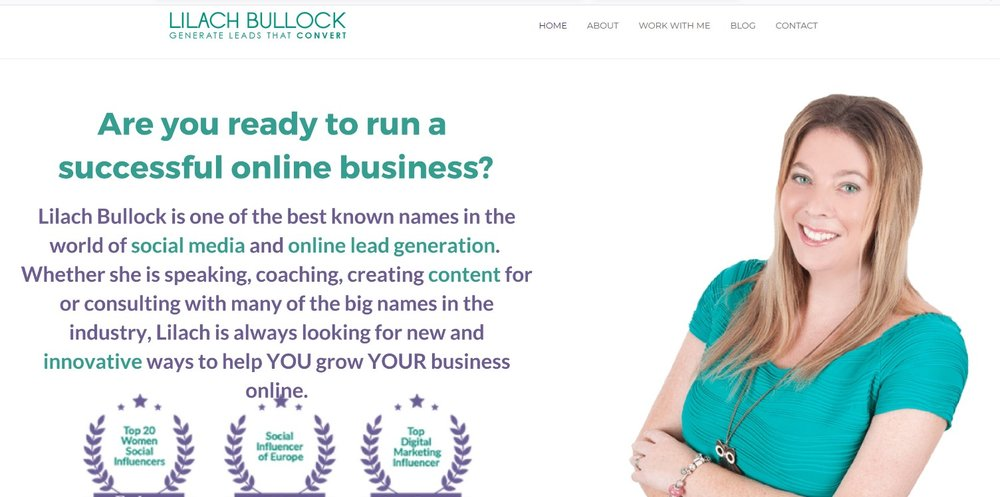 Lilach Bullock Content Marketing Strategy