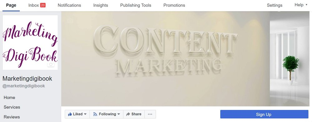 Facebook business page tips Captivating profile