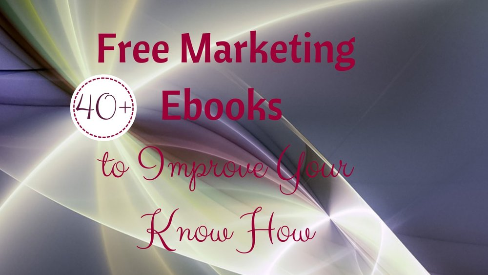 Free Marketing Ebooks pdf