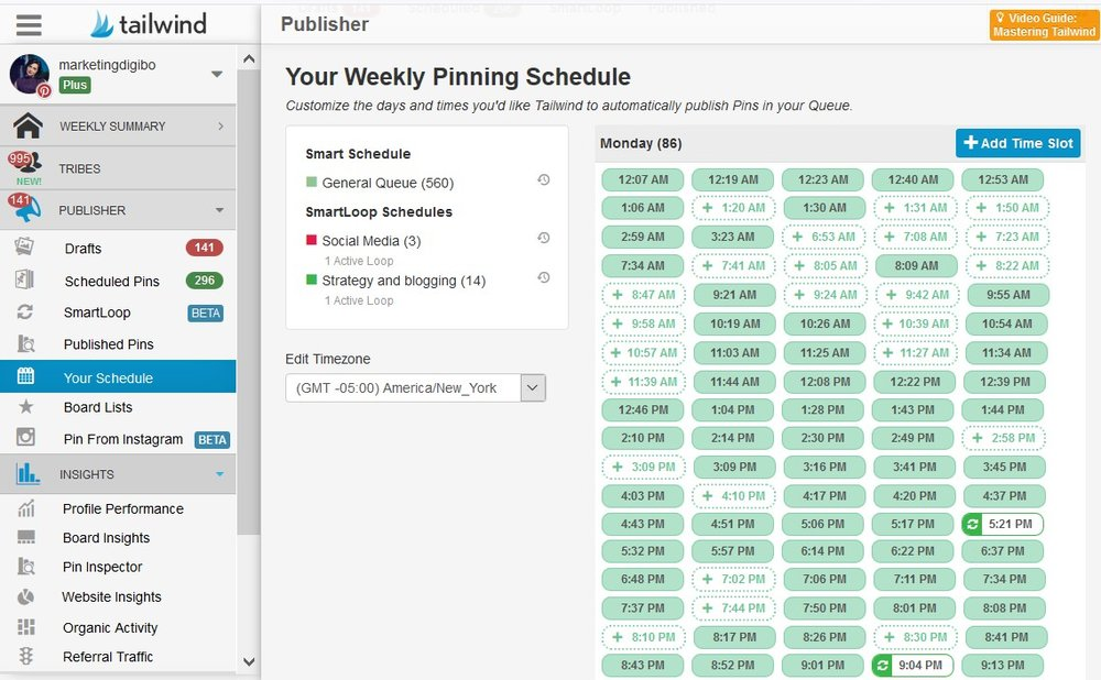 Approved scheduler - Pinterest for business 2019