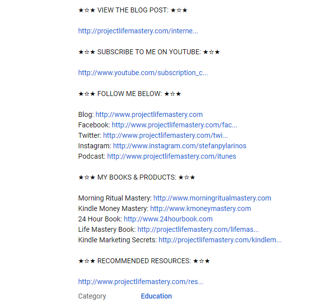 Make money Youtube - promote your own products