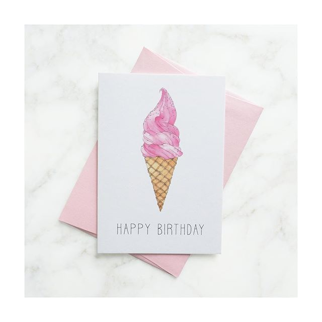 Yummy Strawberry Ice Cream & Spinkles! 🍦 Now available online at www.byscarlett.com x