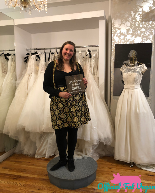 I said YES to the DRESS at Designer Loft in NYC