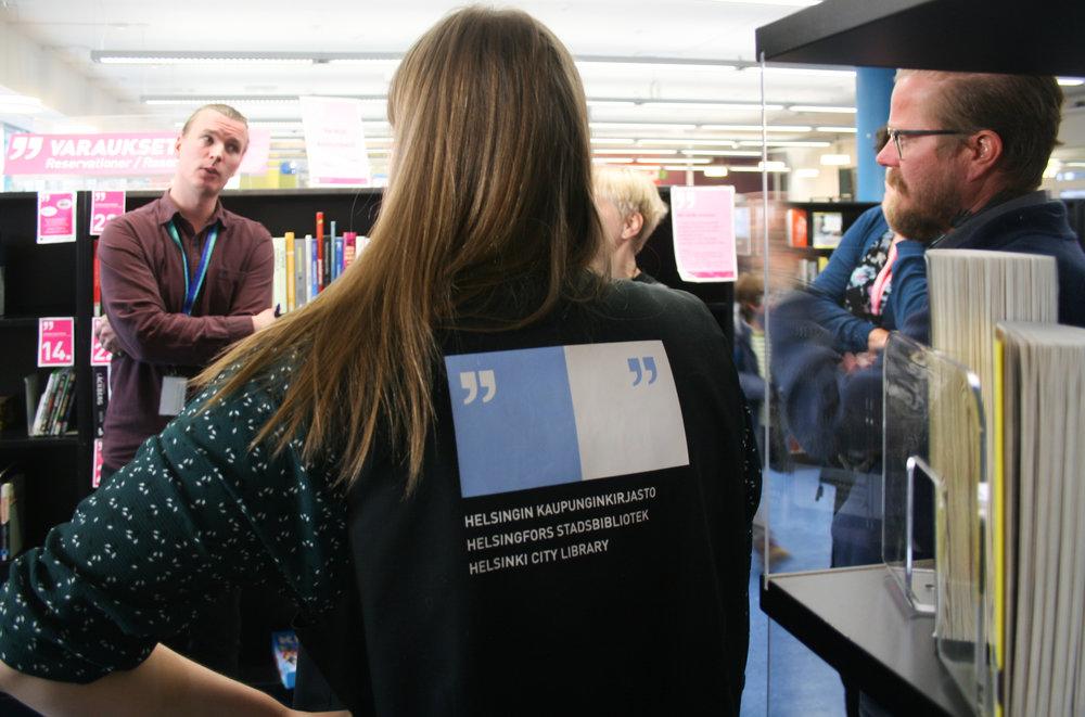 Yhteiskehittäen kirjastojen palvelut löydettäviksi ja asiakkaiden käyttöön! Co-creating the services of libraries in Finland!  Lue lisää  /  Read more