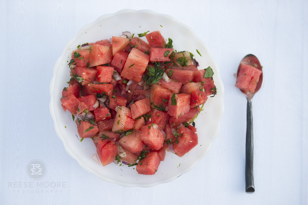 http://eatyourwayclean.com/savory-watermelon-basil-salad/