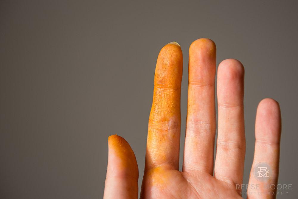 Turmeric.Cheaper than a spray tan. -