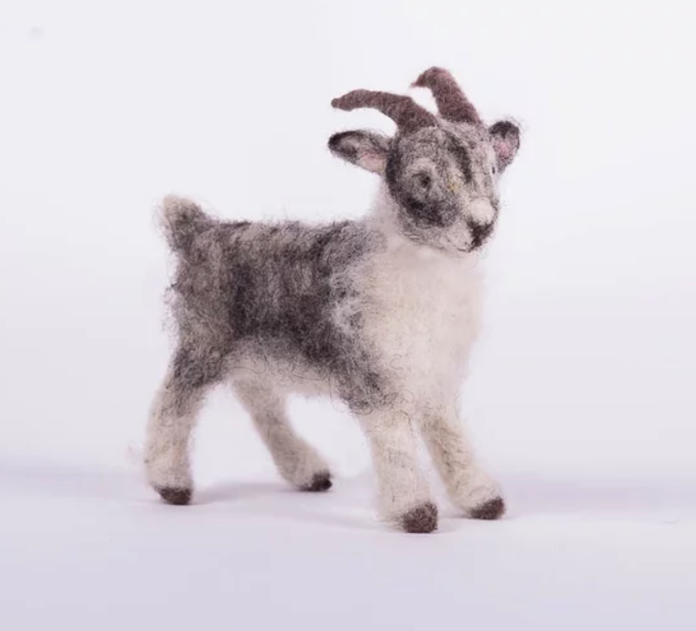 Felted Goat