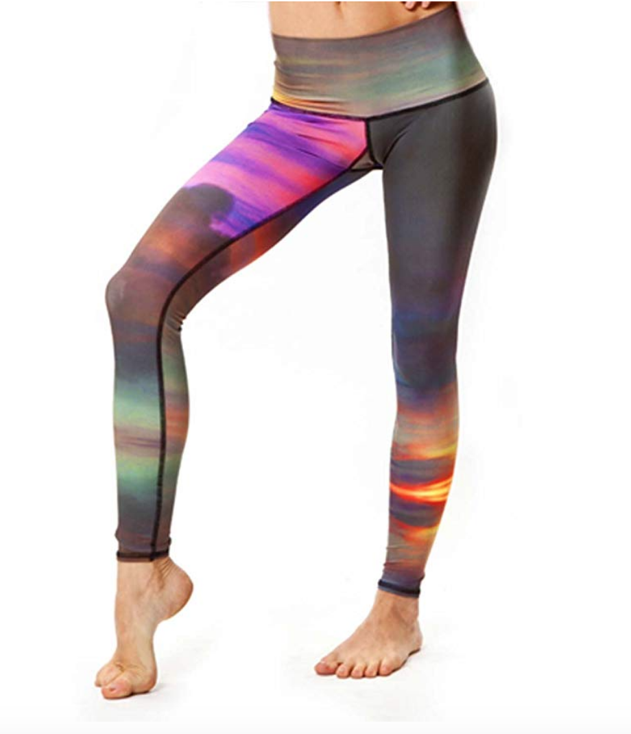 Recycled Plastic Yoga Pants