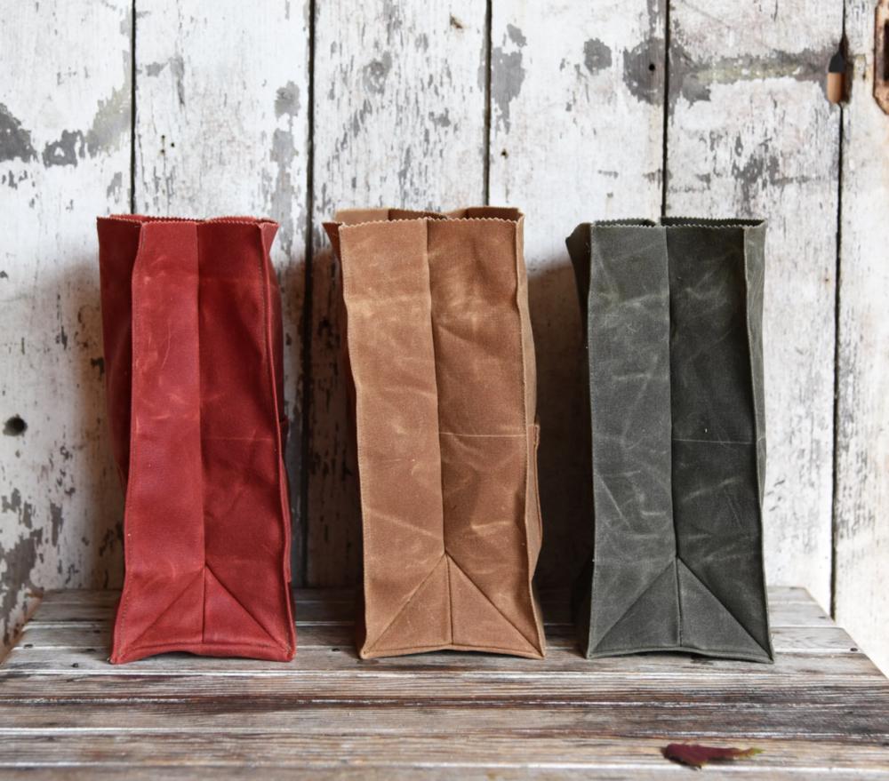 Canvas Snack Bag
