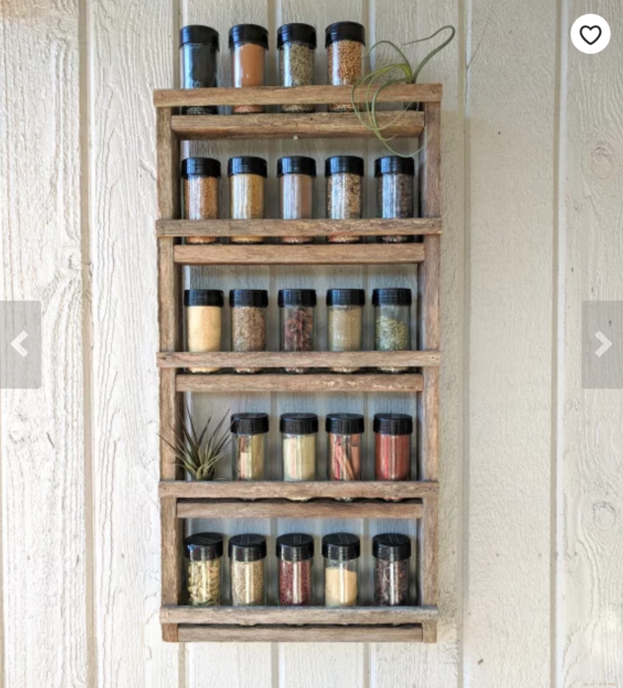 Reclaimed Wood Rack