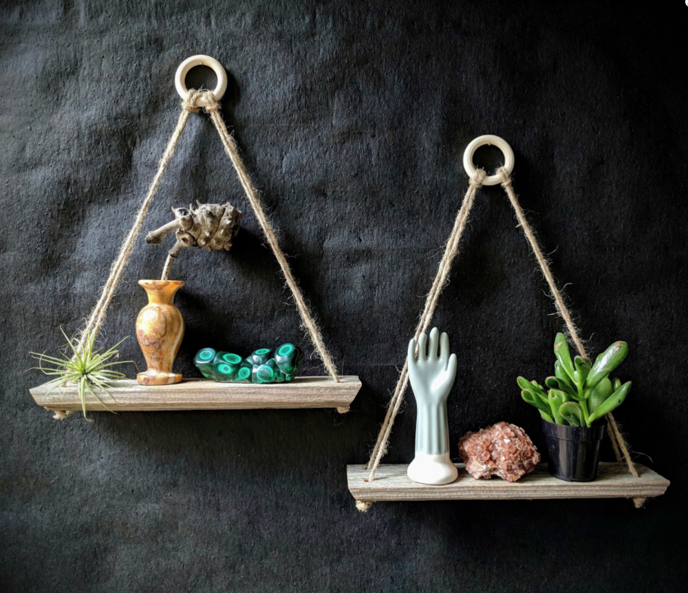 Reclaimed Hanging Shelf