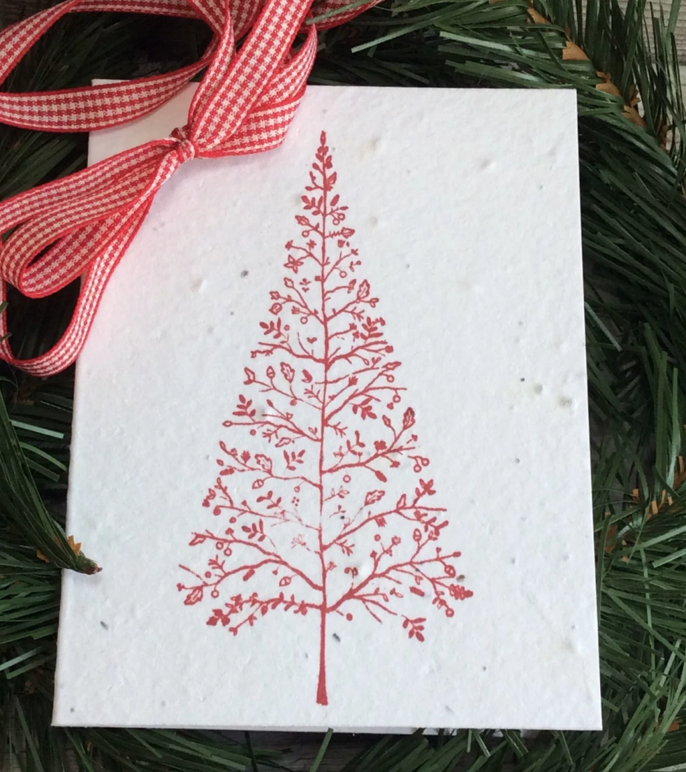 Plantable Christmas Card