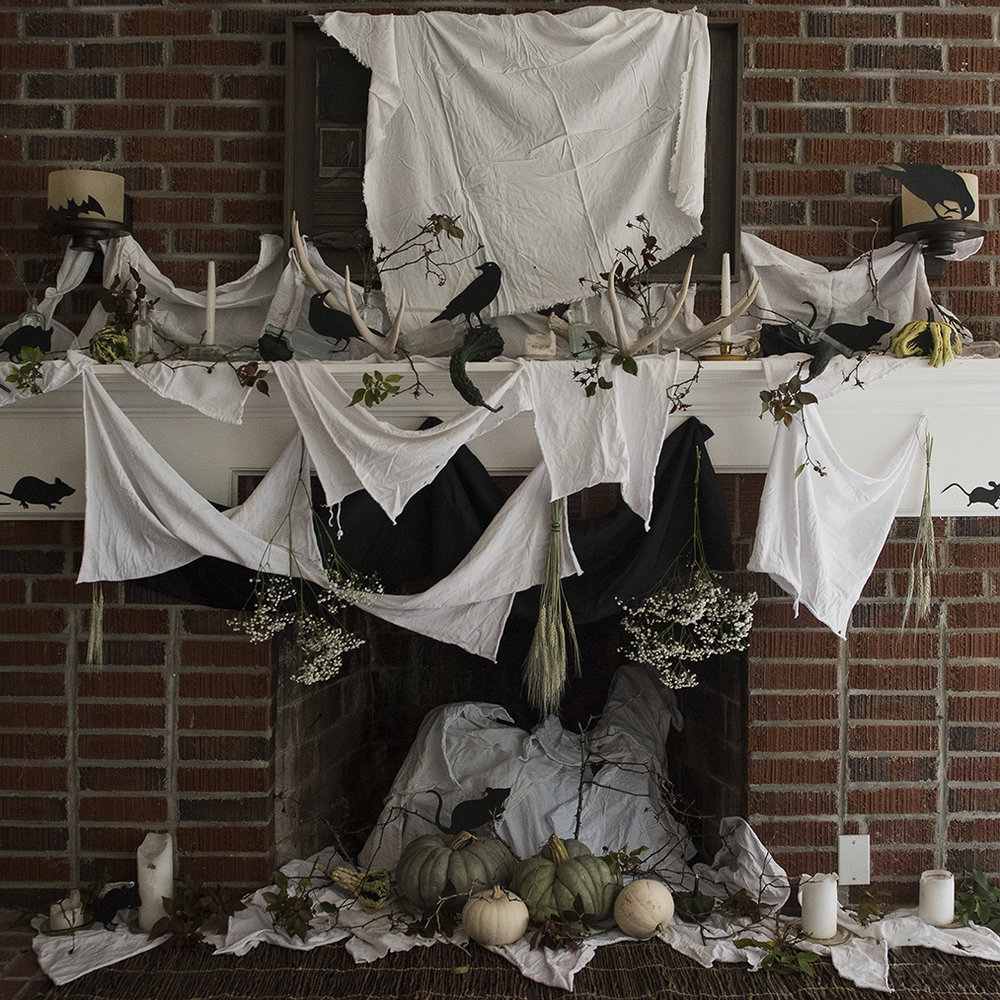 cheap, sophisticated diy halloween decor (zero waste) — compost and cava
