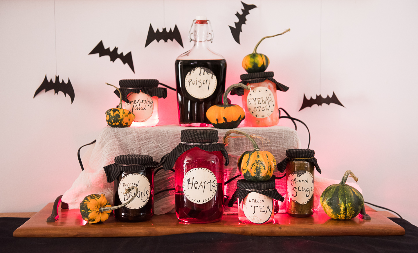 No Spend Eco Friendly Halloween Decorations Spooky Witchs Kitchen Splash Bottle Acs Series Compost And Cava