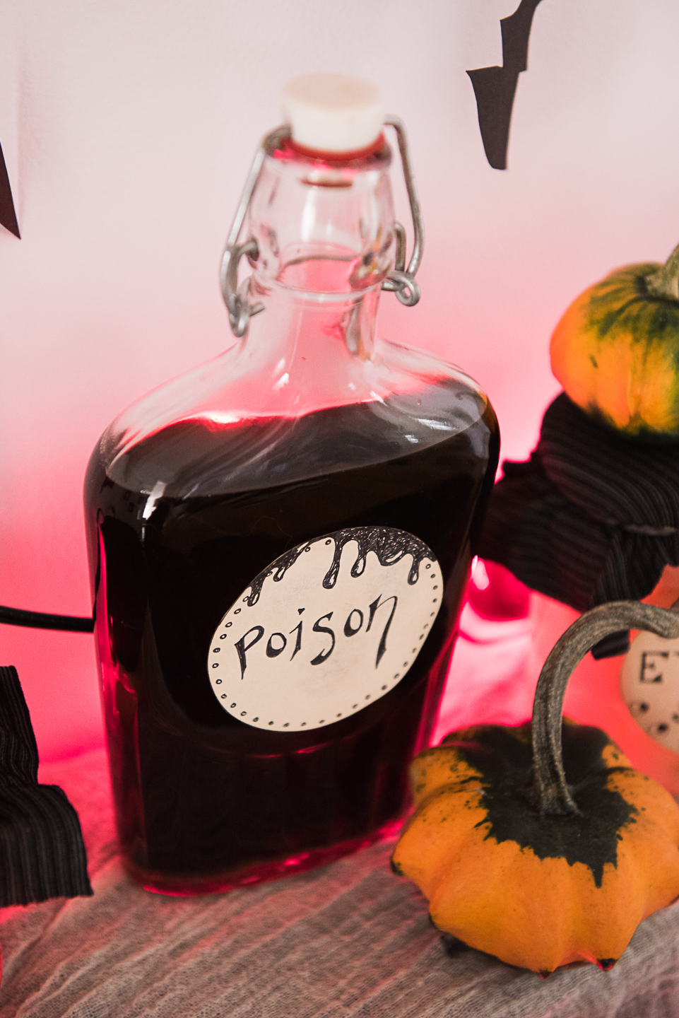 No-Spend Eco-Friendly Halloween Decorations: Spooky Witch's Kitchen