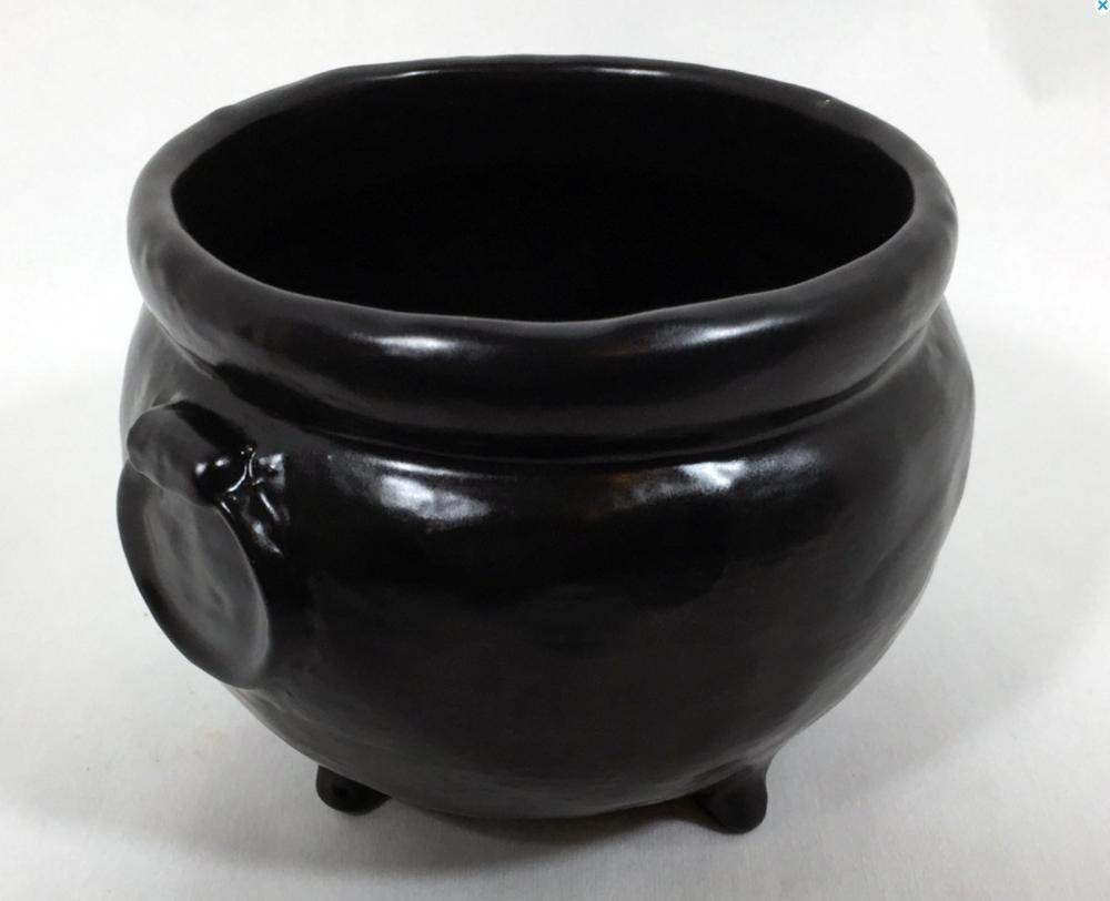 Handmade Ceramic Cauldron