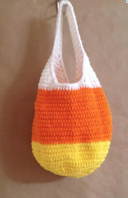 Candy Corn Market Bag
