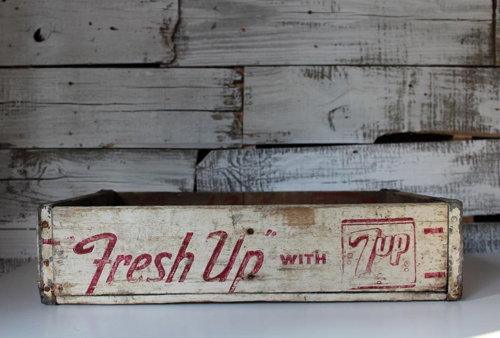 Vintage Crate ($65.00)