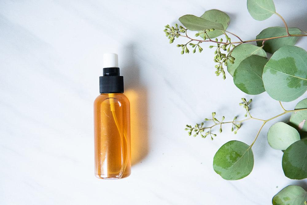 DIY Eucalyptus Linen Spray