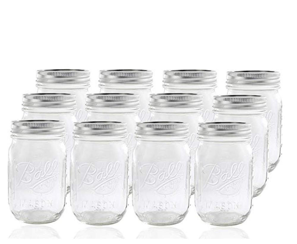 Mason Jars ($17.25)