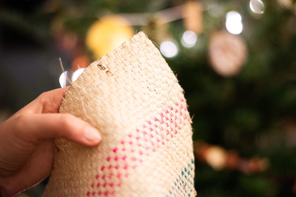 DIY Upcycled Coffee Sack Miniature Christmas Tree Skirt-5608.jpg
